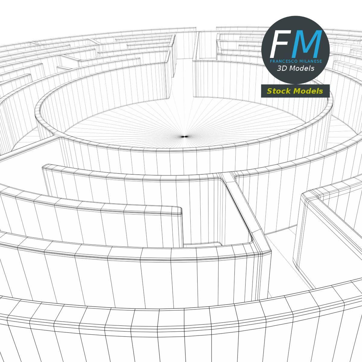 Circular Labyrinth Labyrinth, Circular, Augmented