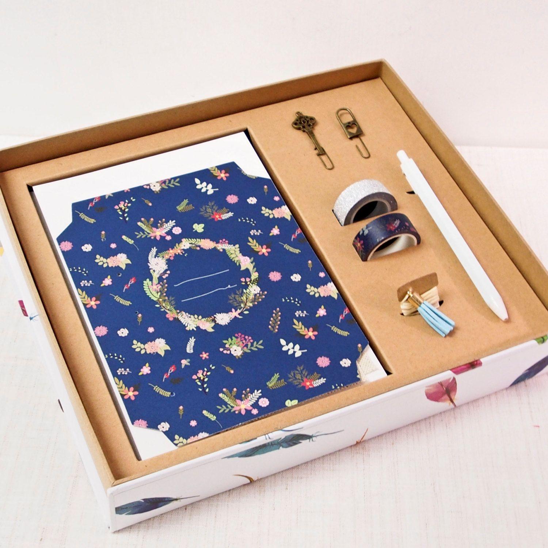 Floral Pattern Craftbook Marker Box Set Bind Your