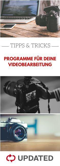 Tolle Videoschnittprogramme Fur Windows 10 Video Schneiden Videobearbeitung Videos