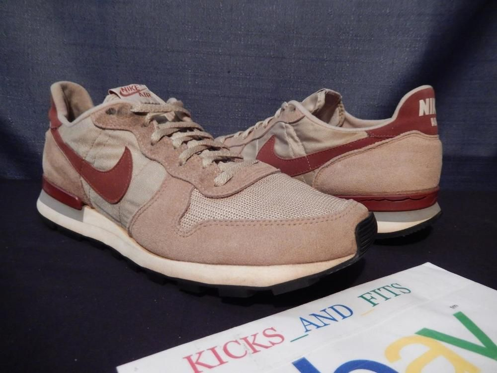3b00e6f854d9 TRUE VINTAGE OG Nike Air Equator Running Shoes 80 s Rare USA Made sz 11 rare …