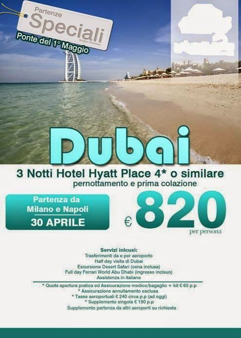 JLAND TRAVEL: PONTE PRIMO MAGGIO DUBAI!!!
