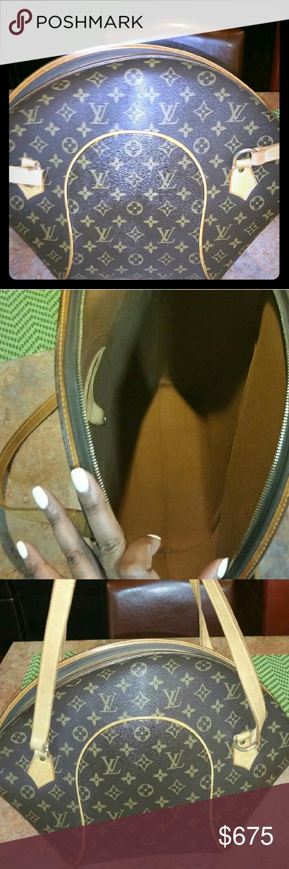 Louis Vuitton Ellipse GM Extra Large Lv Ellipse bag 100% Authentic Louis Vuitton Bags Shoulder Bags