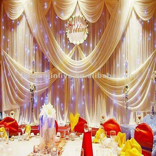 decoracion para bodas con telas – decoraciones para bodas   bodas