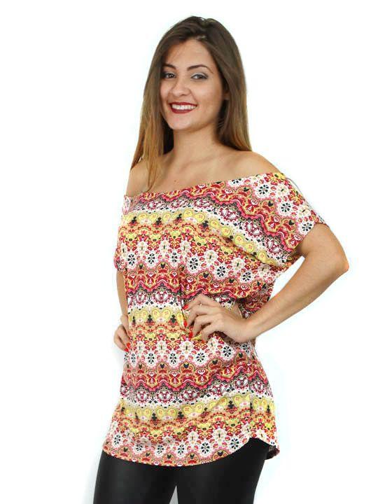 Blusa com tiras de couro nas costas estampa étnica hot. Acesse: http://www.modanaweb.com.br/loja/products.php?product=blusa-com-tiras-de-couro-nas-costas-estampa-etnica-hot