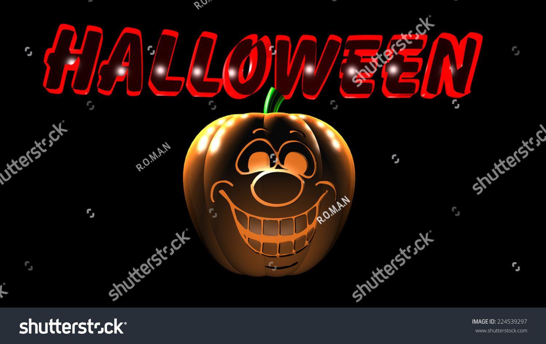 Halloween pumpkin 3D render #Ad , #Sponsored, #Halloween#pumpkin#render