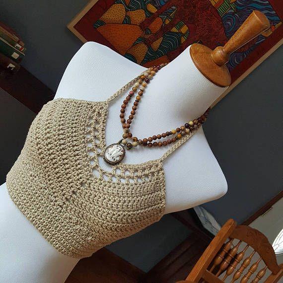 Womens Crochet Crop Top Pattern Ladies Crochet Bralette Pattern