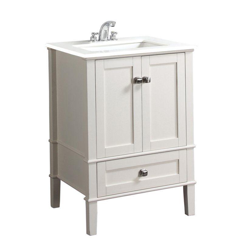 Burholme 24 single bathroom vanity set 24 inch bathroom