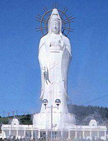 Kannon White-robed (Hokkaido statue)