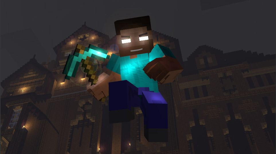 Herobrine From Minecraft Or The One That Is Constantly Removed Description From Tigerarainbowra Deviantart C Minecraft Wallpaper Minecraft Minecraft Pictures