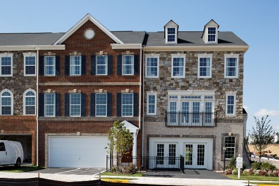 Buckingham II at River Pointe Townhomes by K. Hovnanian ...