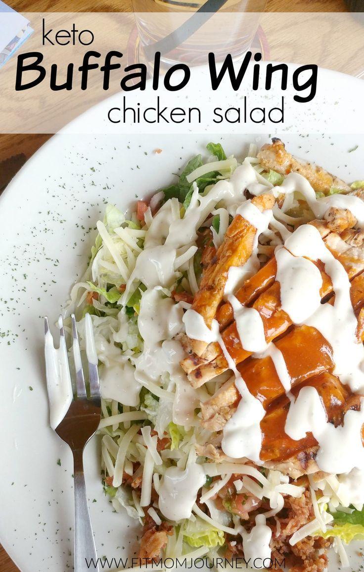 Keto Buffalo Wing Chicken Salad - Fit Mom Journey