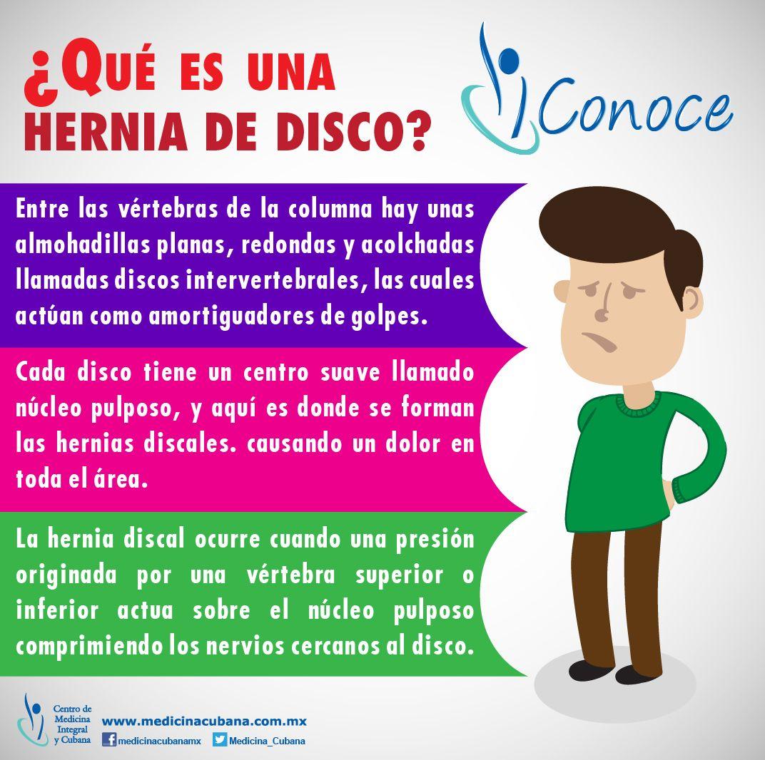 Una hernia discal es una de las causas más comunes de dolor de ...