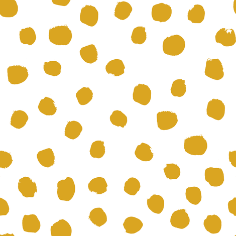 Colorful Fabrics Digitally Printed By Spoonflower Mustard Dots Yellow Dots Gold Dots Fabric Cute Baby Girl Fabric Nursery Baby Fox Girls Mustard Wallpaper Polka Dots Wallpaper Orange Nursery