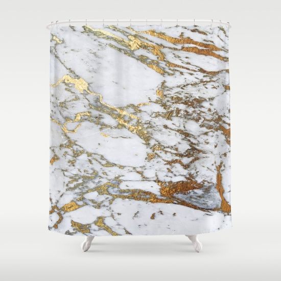 Customize Your Bathroom Decor With Unique Shower Curtains Designed By Artists Around The World Made From 100 Polyester Our Designer Shower With Images Gold Shower Curtain