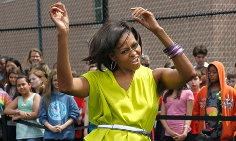 Michelle Obama, the rapper: what should she wear?