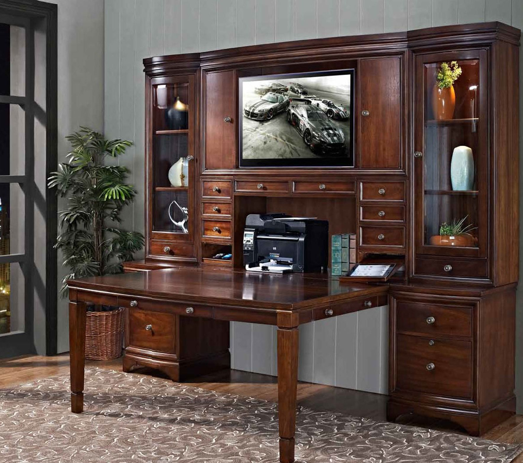 Home Office Design Stores Kids Buy Study Table Furniture F: Madison Collection Partner's Desk Unit