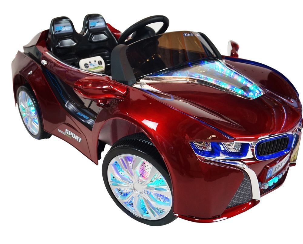 2017 bmw i8 12 volt battery powered electric ride on kids toy car remote red