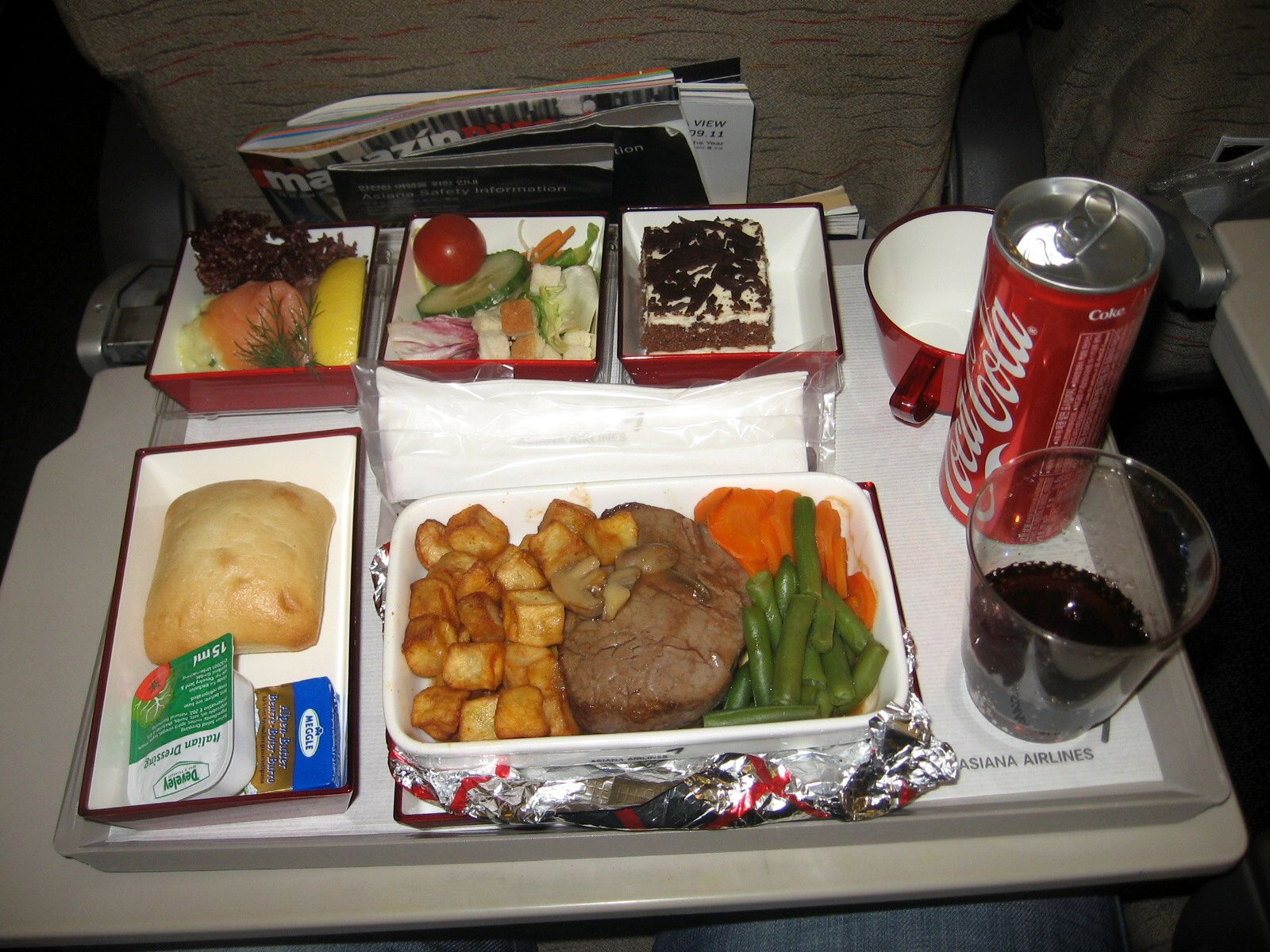 Asiana Airlines - Dinner