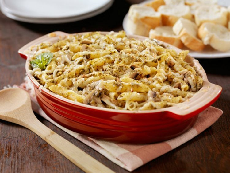 Baked Pasta With Zucchini Cottage Cheese Recipe Cottage