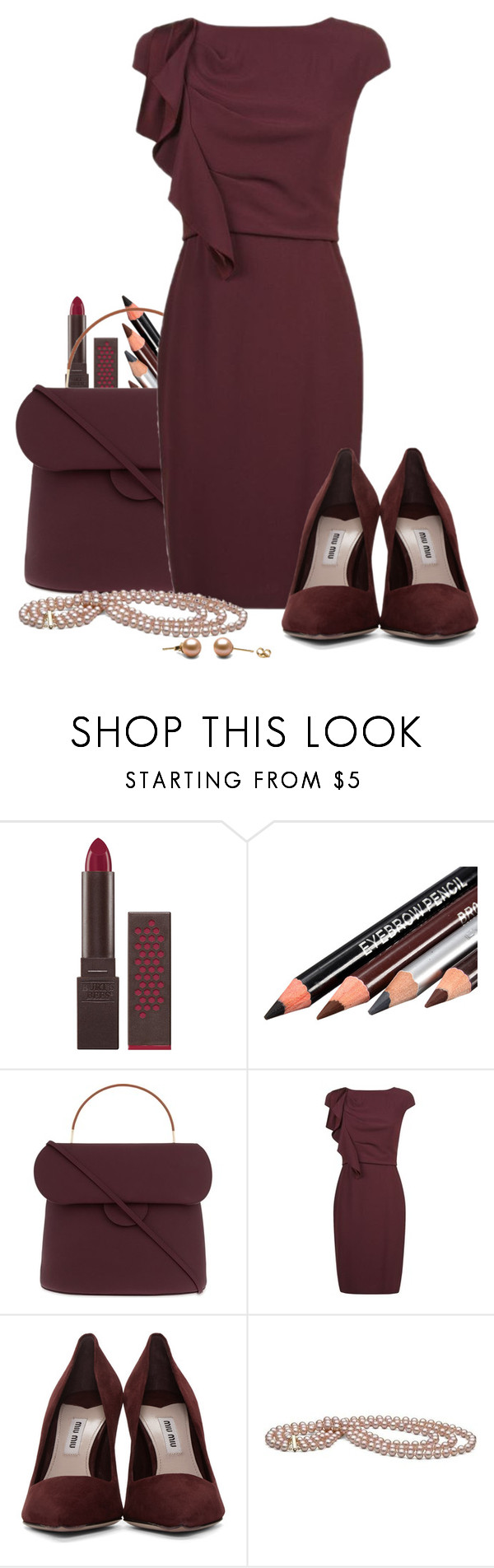 """Untitled #530"" by thecomedian ❤ liked on Polyvore featuring Burt's Bees, Roksanda, MaxMara and Miu Miu"