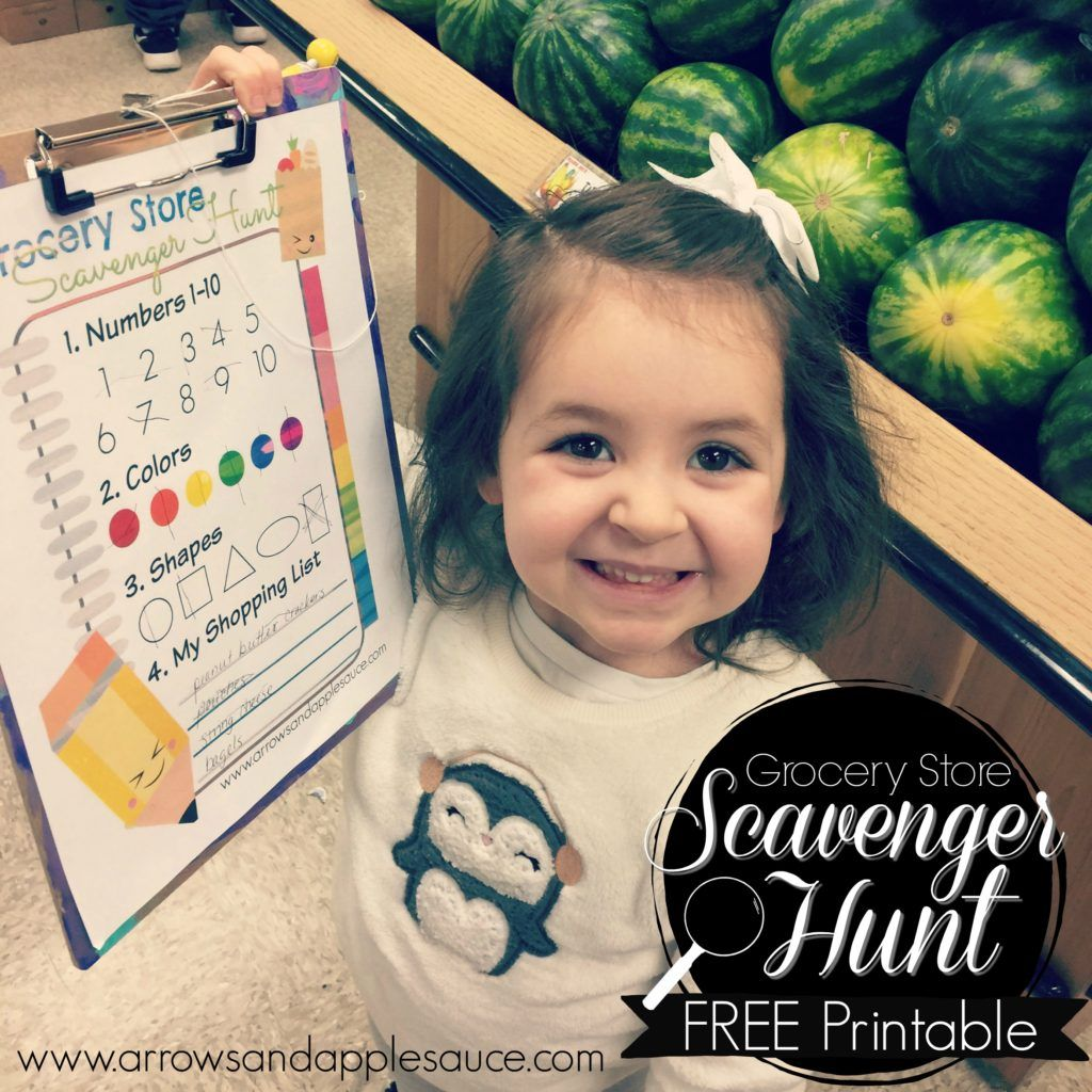 Grocery Store Scavenger Hunt With Images