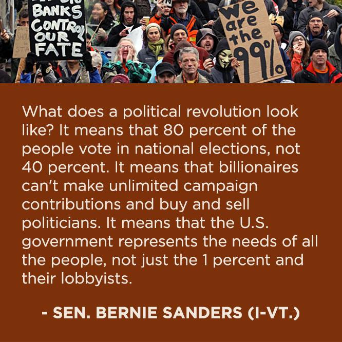 A political revolution, that is LONG overdue...  - http://holesinthefoam.us/berniesandersrevolution/