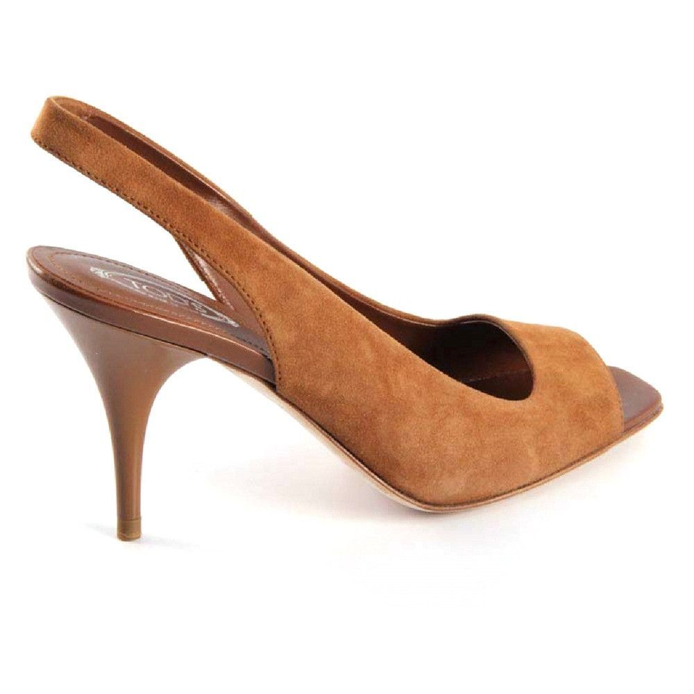 63bf9fdc43f Camel 36 EUR - 6 US (241mm) Tods ladies sandal XXW0KQ07490HR0S600 ...