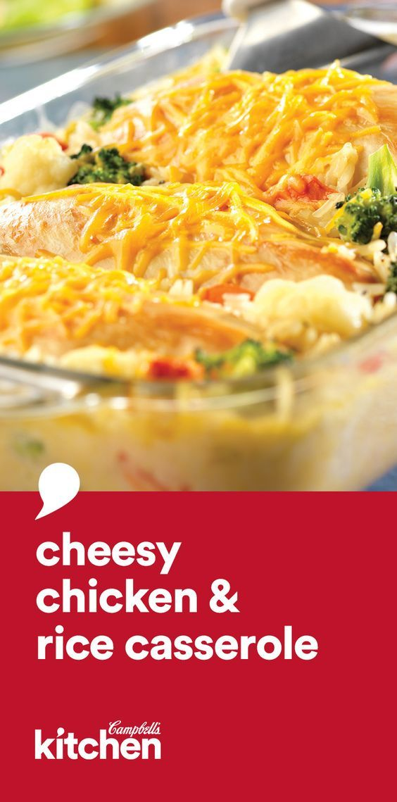 Cheesy Chicken  Rice Casserole  Recipe  Cheesy Chicken -3228