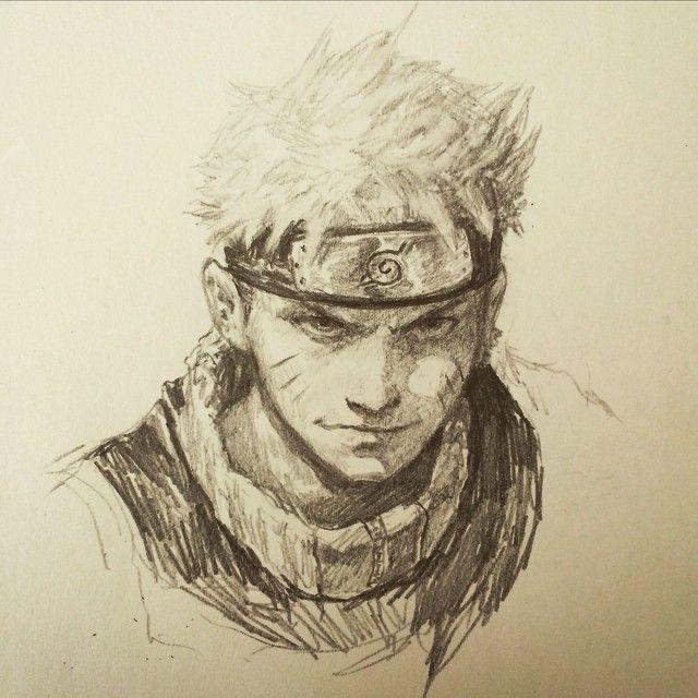Naruto by Dave Rapoza   scetch   Pinterest   Naruto, Anime ...