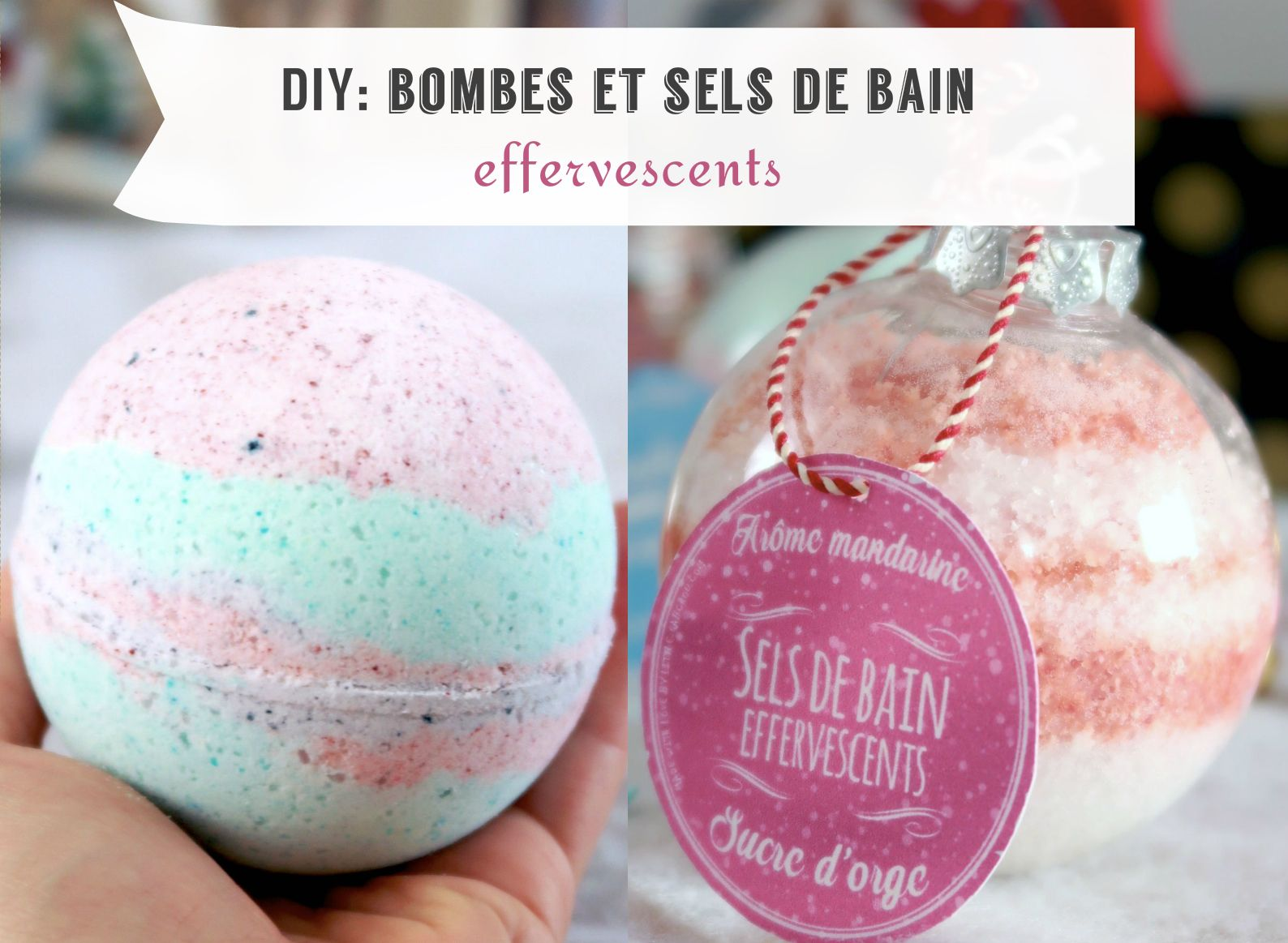 tuto bombes de bain fa on lush et sels de bain effervescents fait maison cr ation diy id e. Black Bedroom Furniture Sets. Home Design Ideas