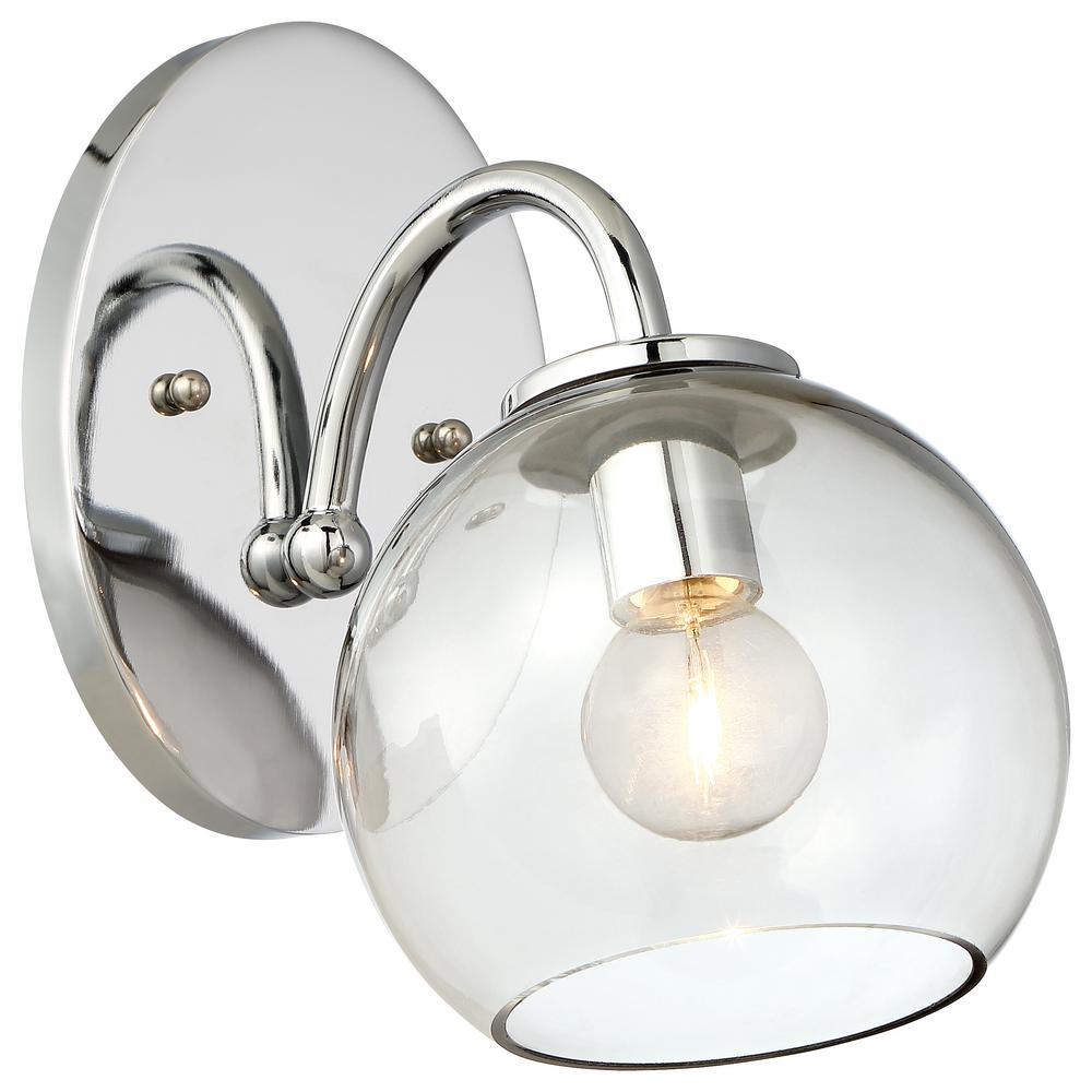 George Kovacs Exposed 1-Light Chrome Bath Light