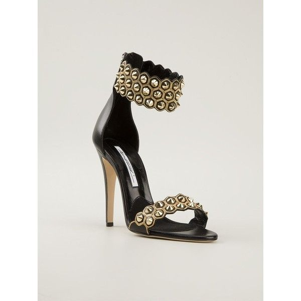 82c23ff7b0 Brian Atwood 'Abell' shoes (3.110 RON) ❤ liked on Polyvore featuring shoes,  high heels, ankle strap shoes, strappy shoes, ankle strap stilettos, brian  ...