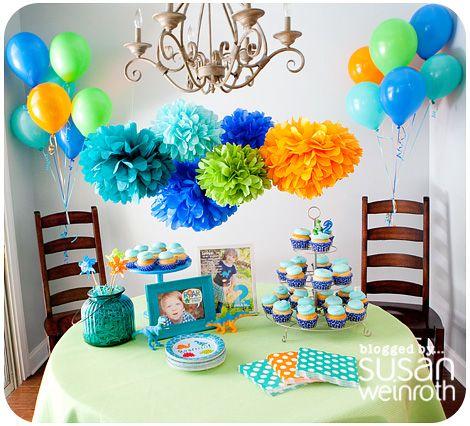 Cutest kid birthday party everNoahs DINOROAR Party table