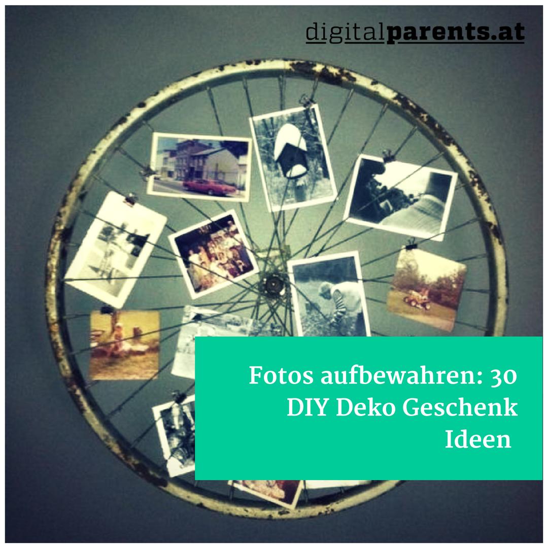 Fotos aufbewahren: 30 DIY Ideen, DIY Bilderrahmen, DIY Fotowand, DIY ...
