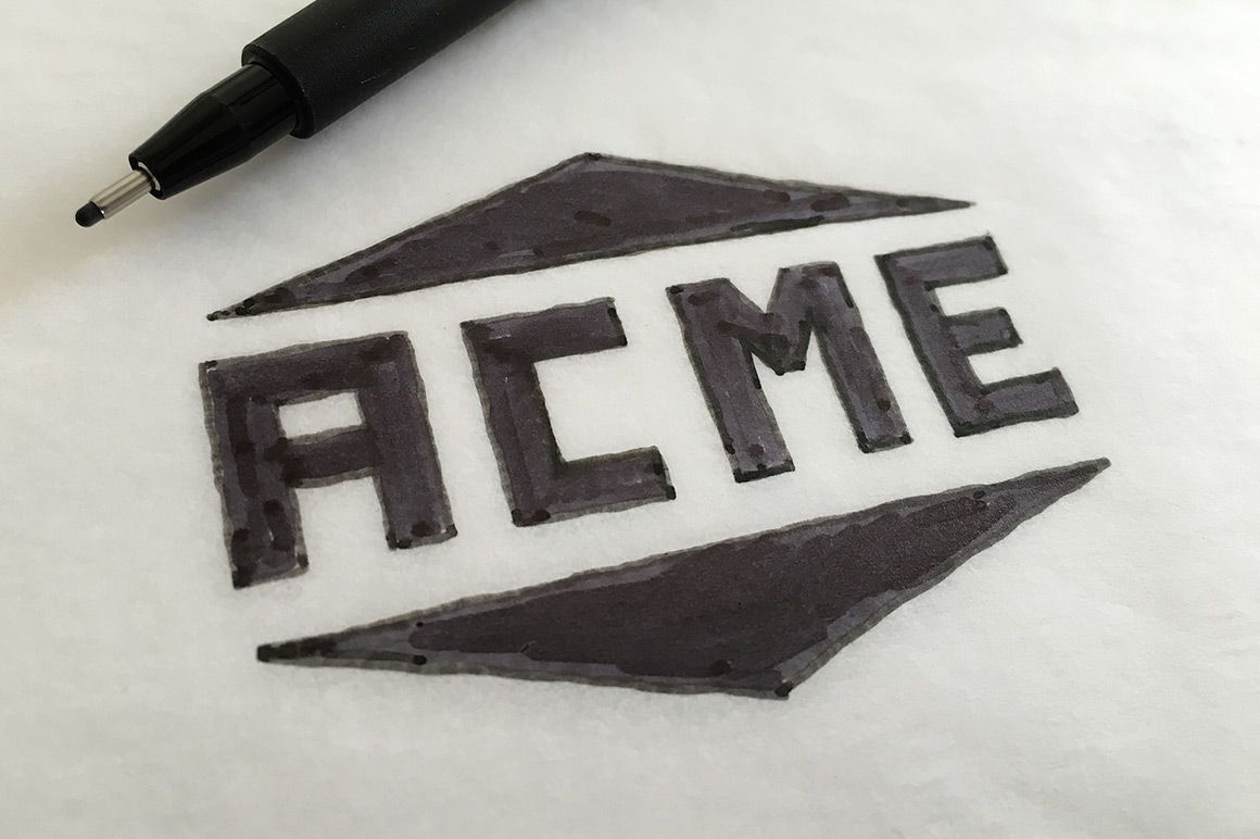 how to turn a hand drawn logo into a vector hand drawn logos and