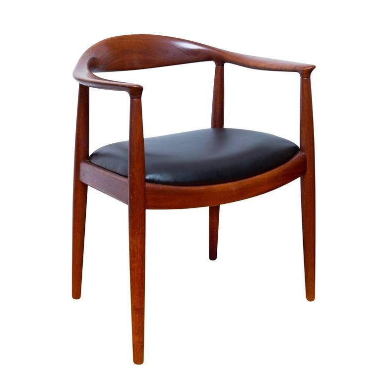 Vintage Hans Wegner The Chair In Teak 1 Chair Wegner Chair