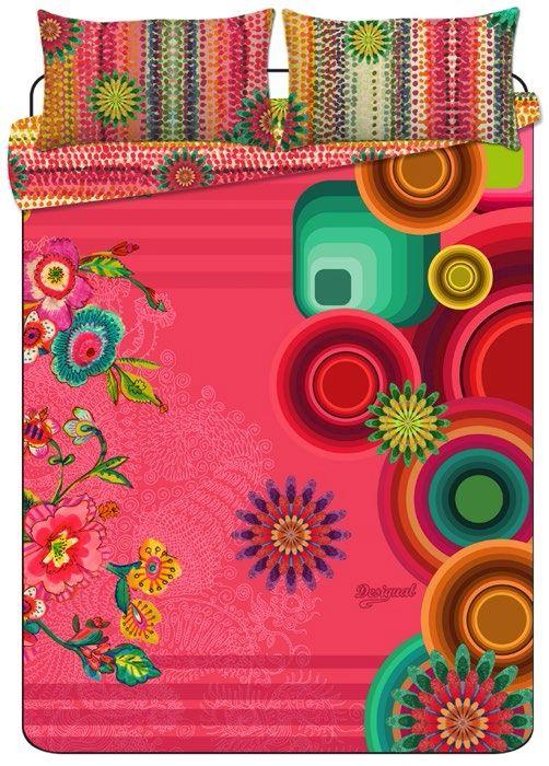 linge de lit desigual lollipop nouvelle collection desigual de housses de couette draps et. Black Bedroom Furniture Sets. Home Design Ideas