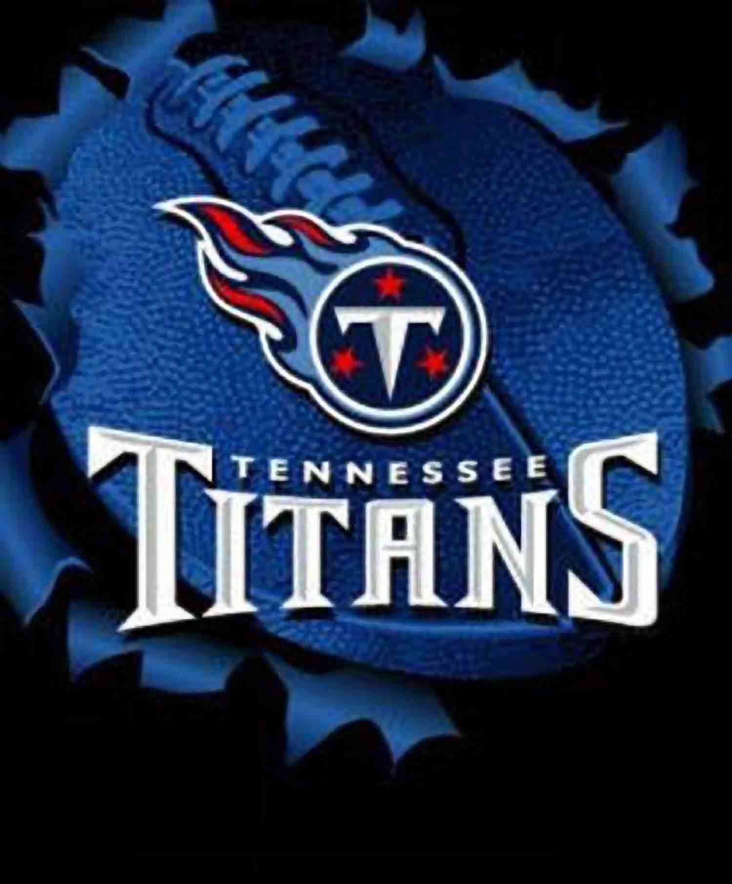 Women's Tennessee Titans Majestic Navy Game Day V-Neck T-Shirt ...