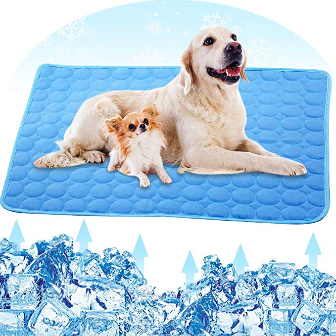 Amazon Com Petplus Dog Cooling Mat Pet Cooling Pads For Dogs Dog Mats Dog Accessories Dog Cooling Vest To He Dog Cooling Vest Dog Cooling Mat Dog Pet Beds