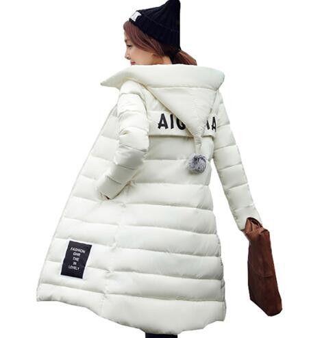 Parkas Winter Jacket coat Women Hooded Thicken Coat xxxxl Warm ... eaec014791ec