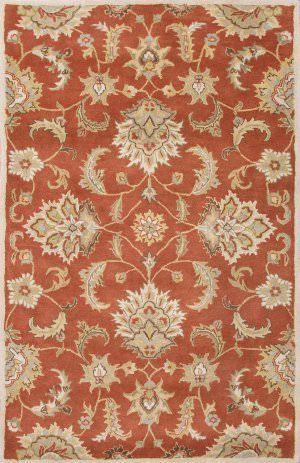 Jaipur Living Mythos Abers My12 Autumn Leaf Dark Earth Area Rug Clearance Area Rugs Grey Area Rug Orange Area Rug