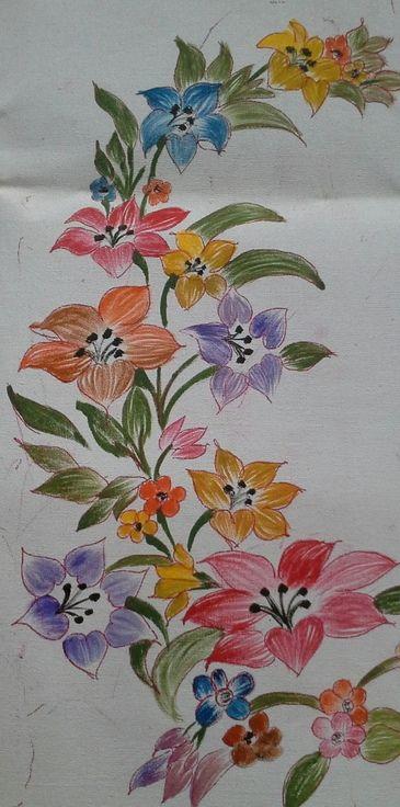 dry stroke sezer pinterest fabric painting fabrics and
