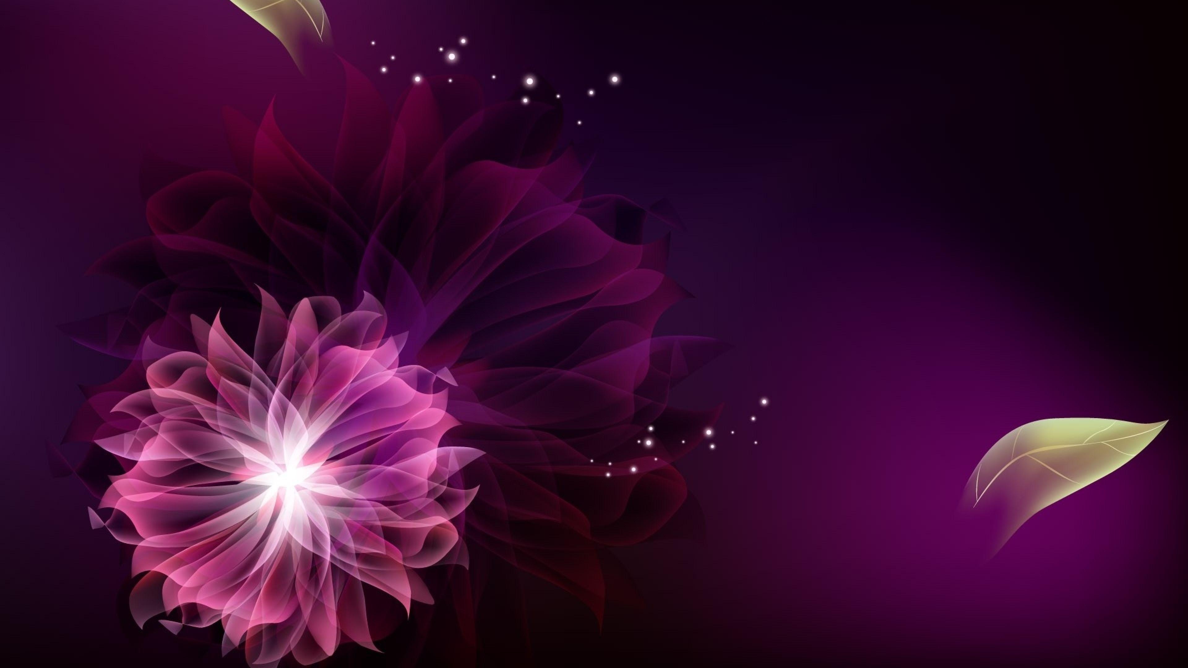 3840x2160 Wallpaper Flowers Smoke Colorful Flight Flores Abstractas Fondos De Colores Abstracto