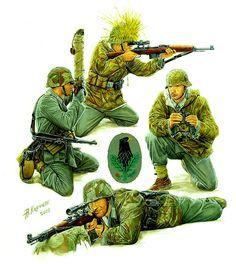 German Sniper Teams