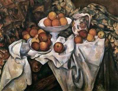 Elma ve Portakallarla Natürmort, 1899 dolayları, Musée d'Orsay, Paris, Fransa.