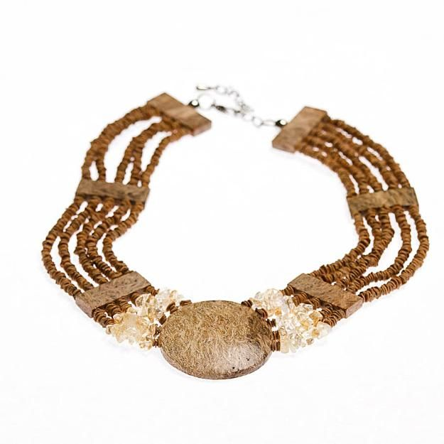 pulseira bijoux natural
