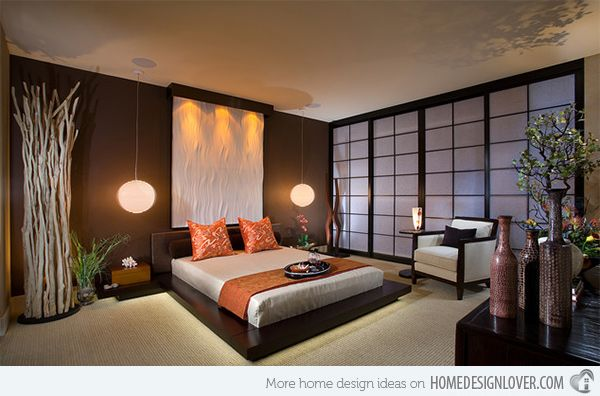 15 Asian Themed Masters Bedroom