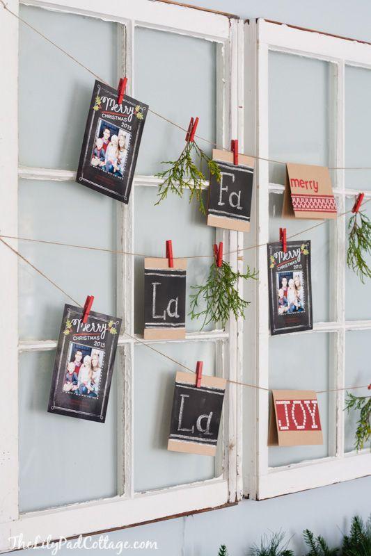 Christmas Card Display Christmas Card Display Christmas Diy Christmas Cards