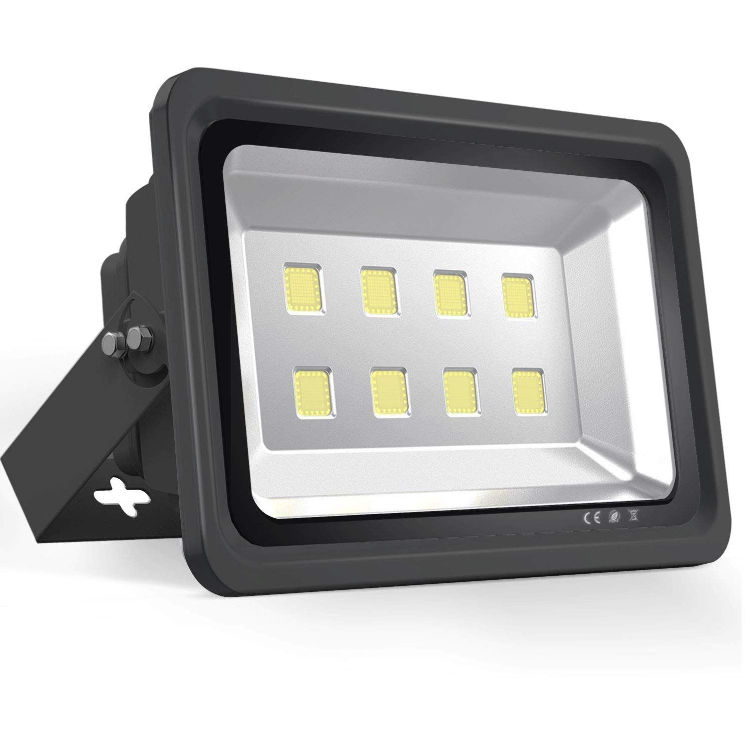 Morsen Led Flood Light 400w Ip65 Waterproof Indoor Outdoor 6000k Super Bright Security Wall Light For Garden Basketba Led Flood Lights Led Flood Flood Lights