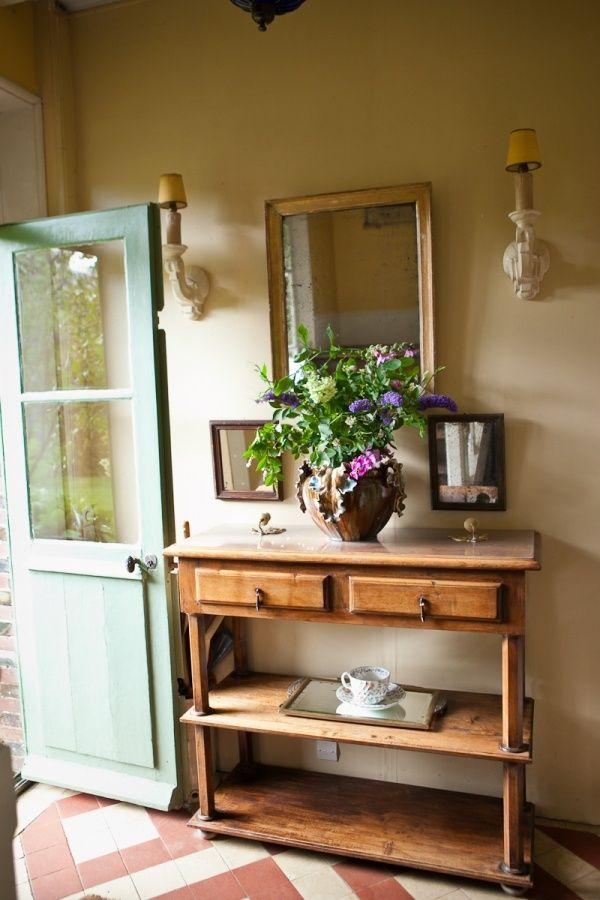 hall du0027entrée maison de campagne Cottage Pinterest Decoration